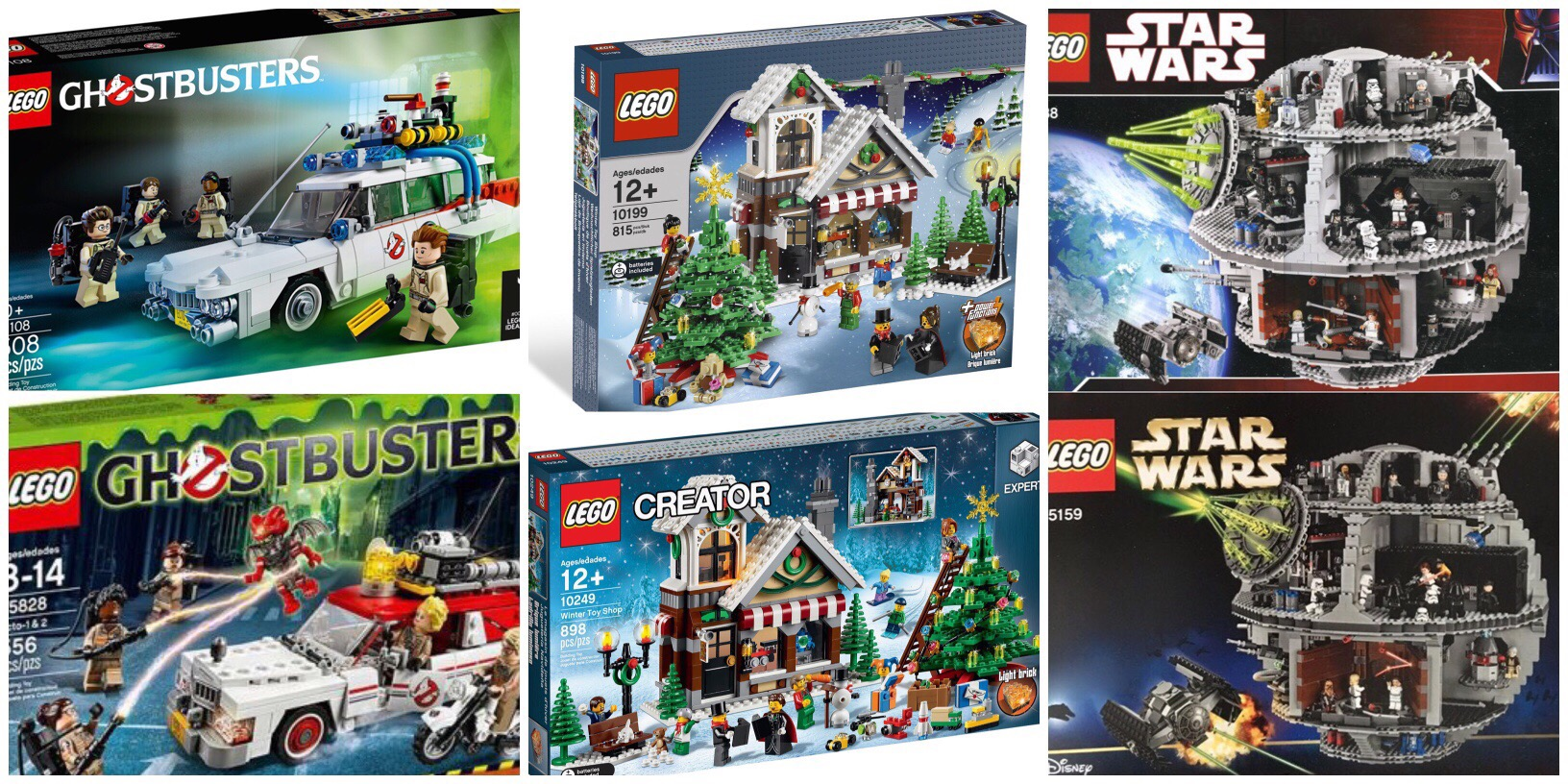 Reboots Reissues And Rampant Speculation The Rambling Brick Lego 10249 Exclusive Winter Toy Shop Recent Unveiling Of A New Death Star Has Led To Much Discussion About Sets Being Reissued Effect That Such May Have On