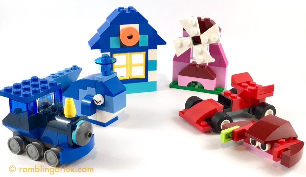 Red Vs Blue Classic Creative Colour Boxes Go Head To The Lego 10709 Orange Creativity Box Rambling Brick