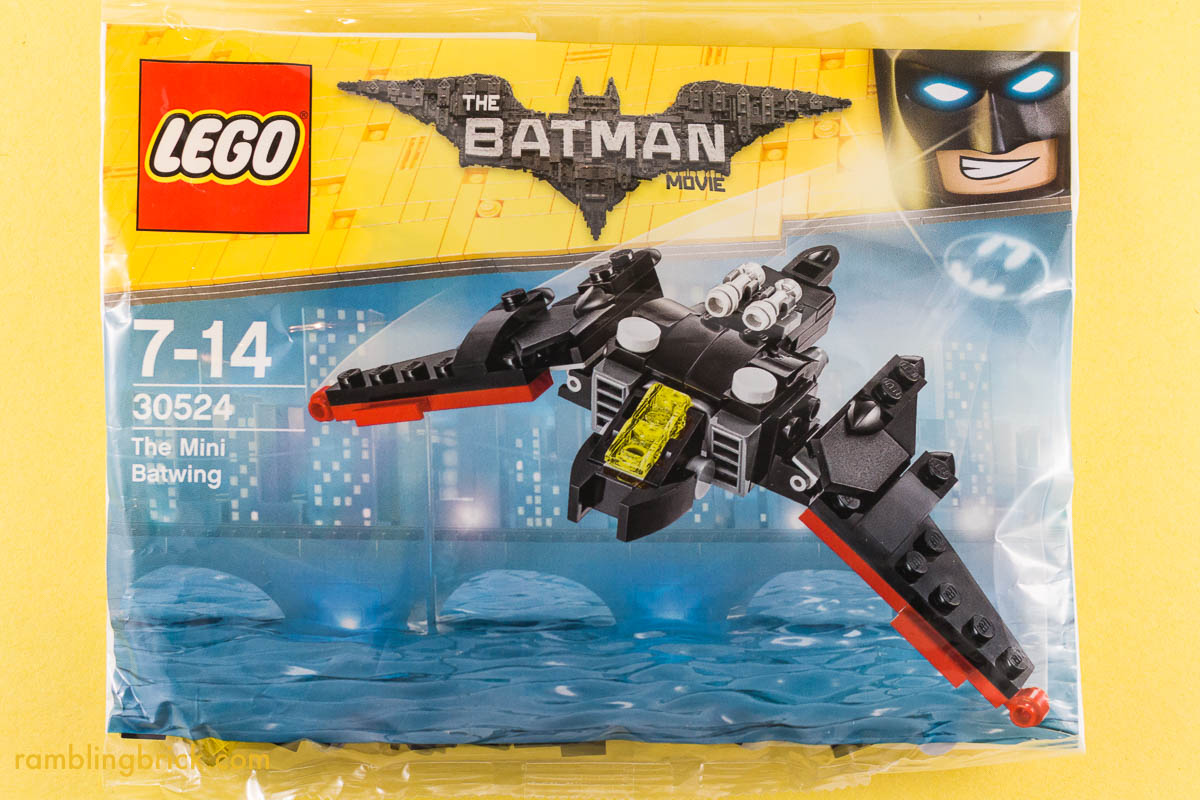 lego batman movie batwing polybag free with purchase at