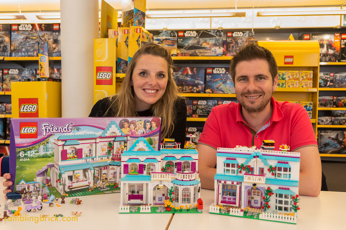 Making Friends, with Fenella and Ricardo: LEGO Friends' Designers (Interview) | The Rambling Brick