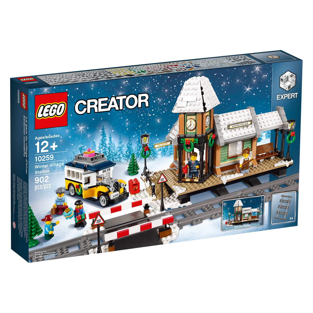 Winter Village Station 10259 Announcement The Rambling Brick