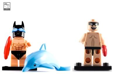 swimming poool batman