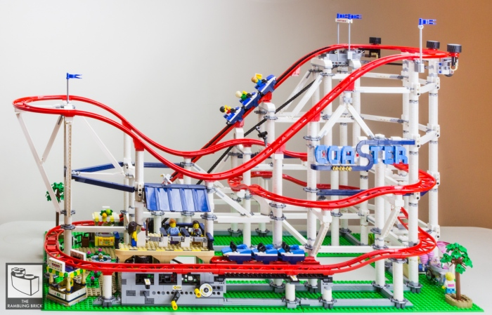 So You Want to Build a Roller Coaster? Roller Coaster 10261 (Review