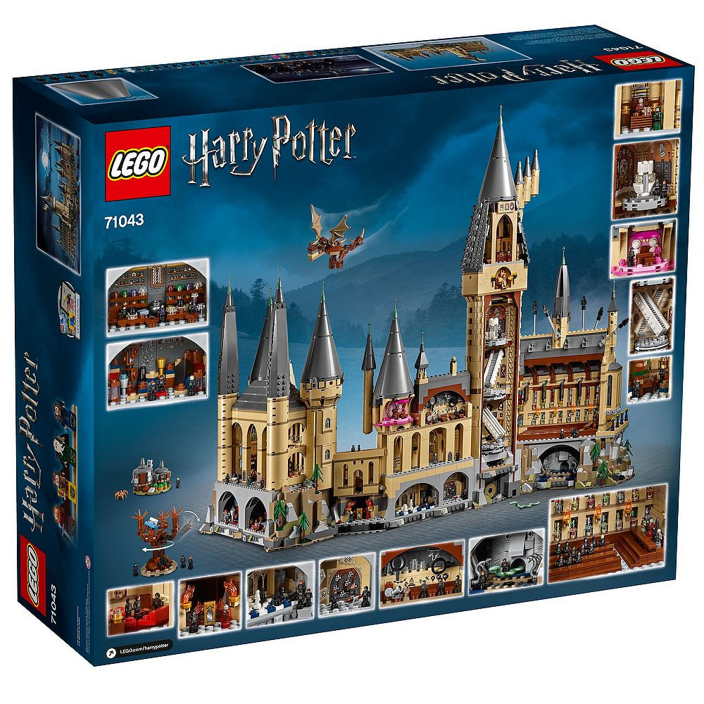 NEW LEGO Statuette 71043 MicroFig Remus Lupin Harry Potter