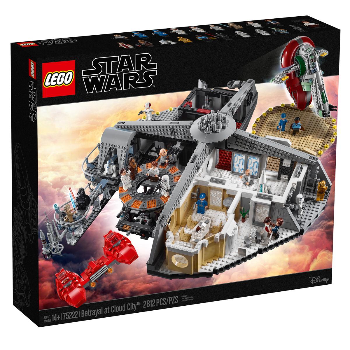 75222-2019-New Lego Star Wars-C-3PO Coloré fils cloud city Figure