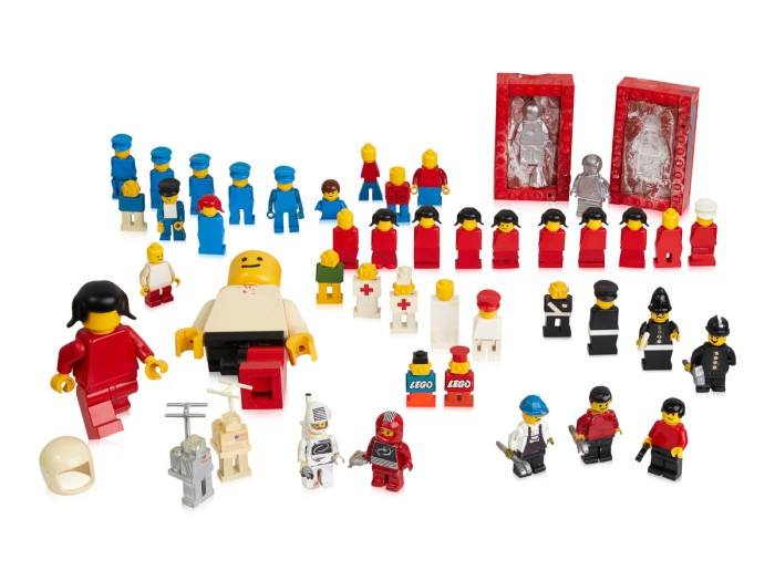 Minifigure prototypes from min. 1975-1978