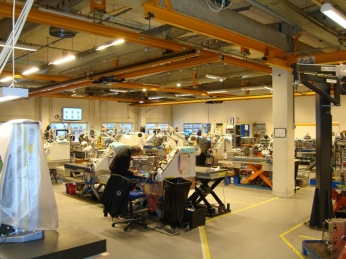 Mould maintenance Billund view 2014