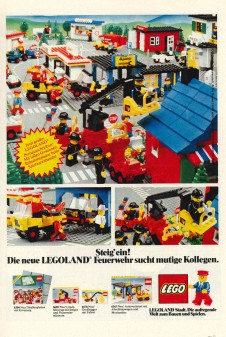 Hop in! The New LEGOLAND Fire Department is looking for courageous colleagues LEGOLAND city. The exciting world to play and games.