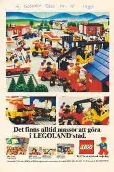 There is always plenty to do in LEGOLAND City. LEGO is a new toy every day.