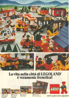 LIFE in LEGOLAND city is really hectic! LEGO: A new game every day