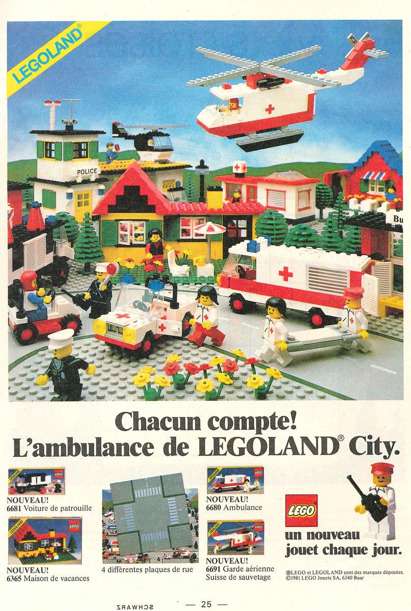 LEGO® Bauanleitung Instruction Nr 6691