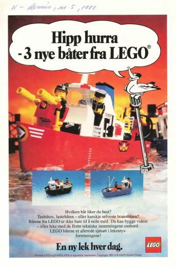 Hooray: 3 new boats from LEGO
