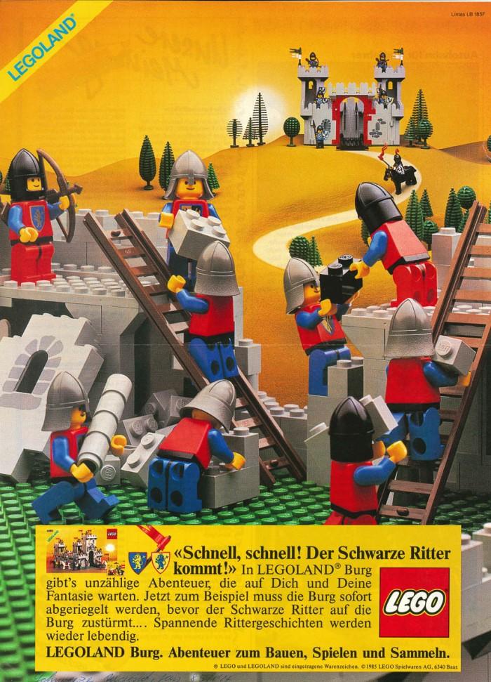 Minifigure 40 Classic Castle Advertising Archive The Rambling Brick