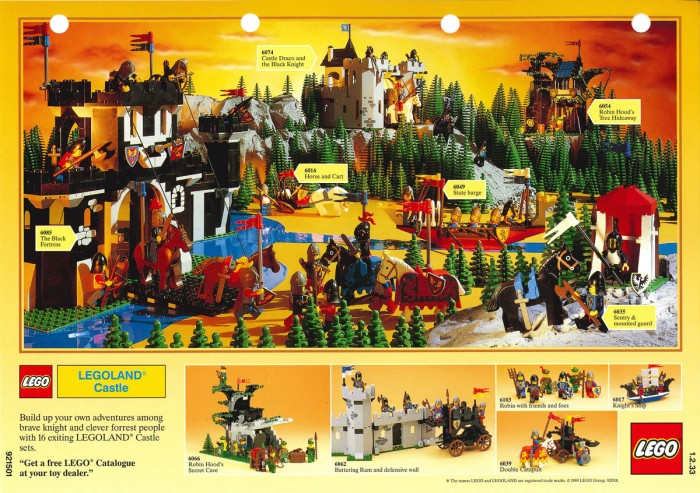 Minifigure 40 Classic Castle Advertising Archive The Rambling Brick