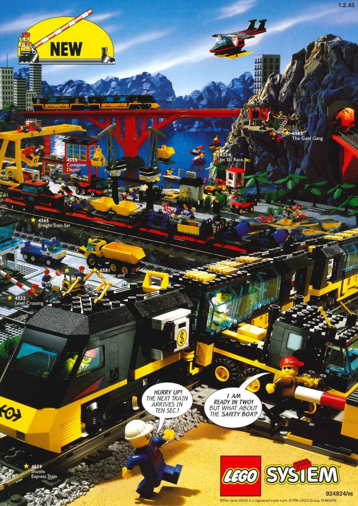 Minifigure40 Trains Advertisement Archive The Rambling Brick