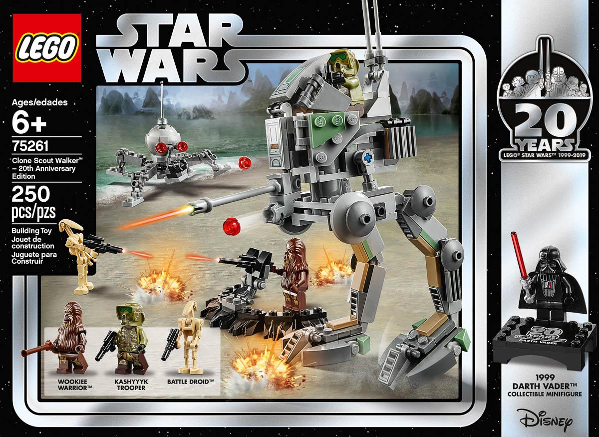 Lego 75261 Kashyyyk Trooper Minifigure Star Wars 20th Anniversary Walker NEW