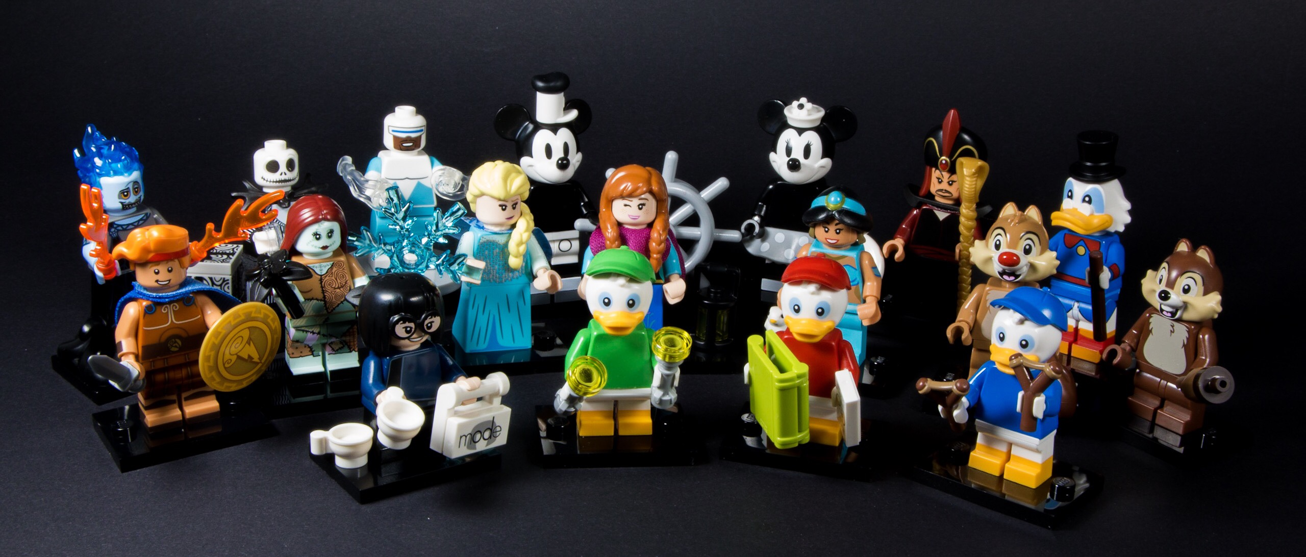lego disney minifigures series 2 15 Out Of 18 Missing Little Ducks