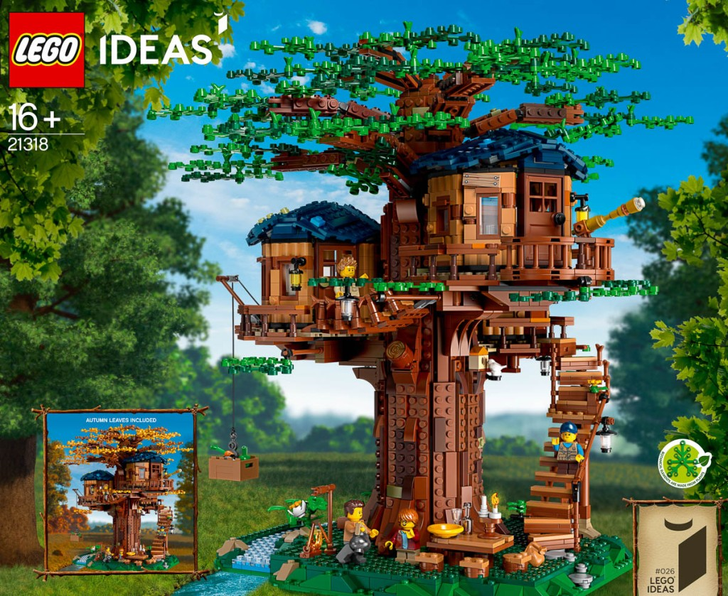 Lego Ideas Tree House 21318 Announced The Rambling Brick Subscribe to treehouse direct for new clips, episodes lego ideas tree house 21318 announced