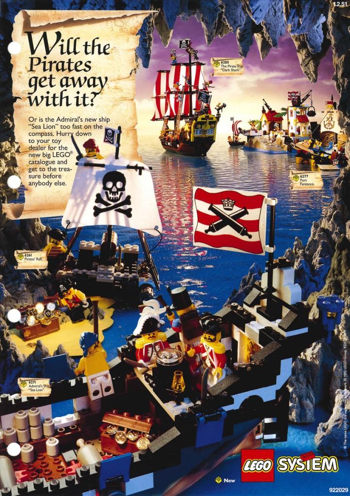 LEGO Pirates: 30 Years of Buried Treasure | The Rambling Brick