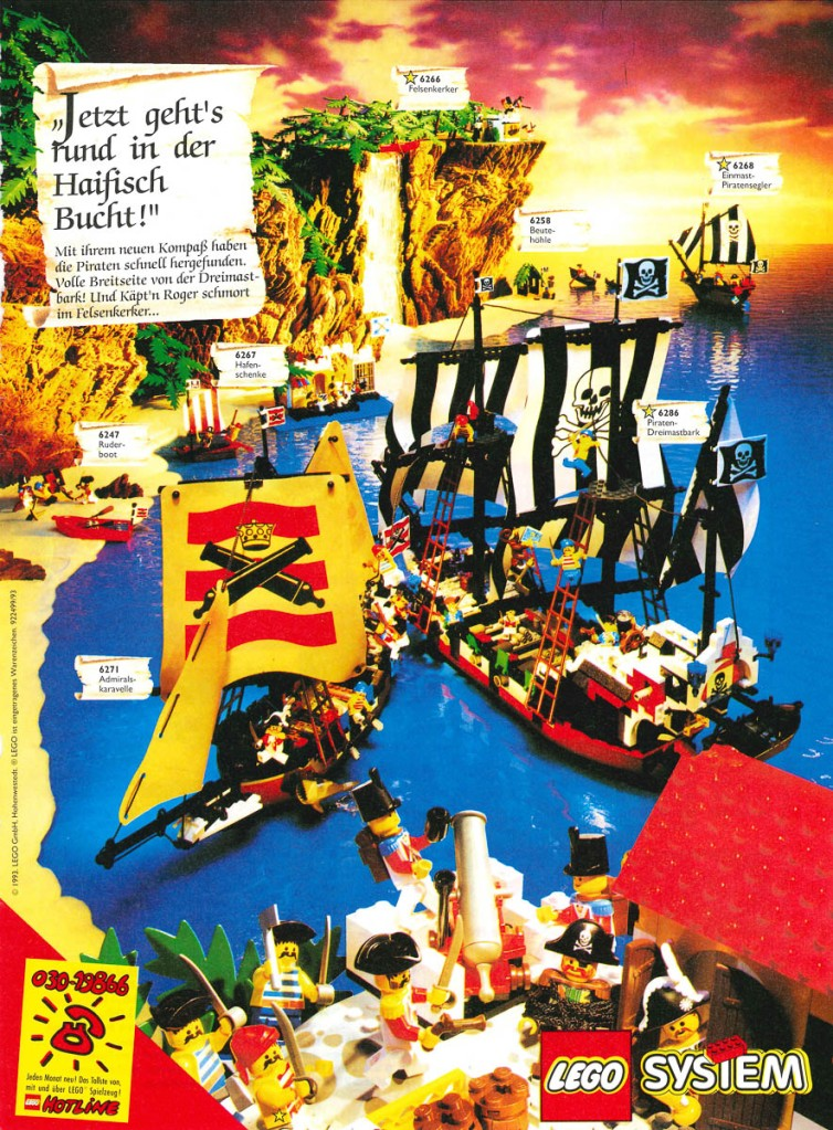 LEGO Pirates: 30 Years of Buried Treasure | The Rambling Brick