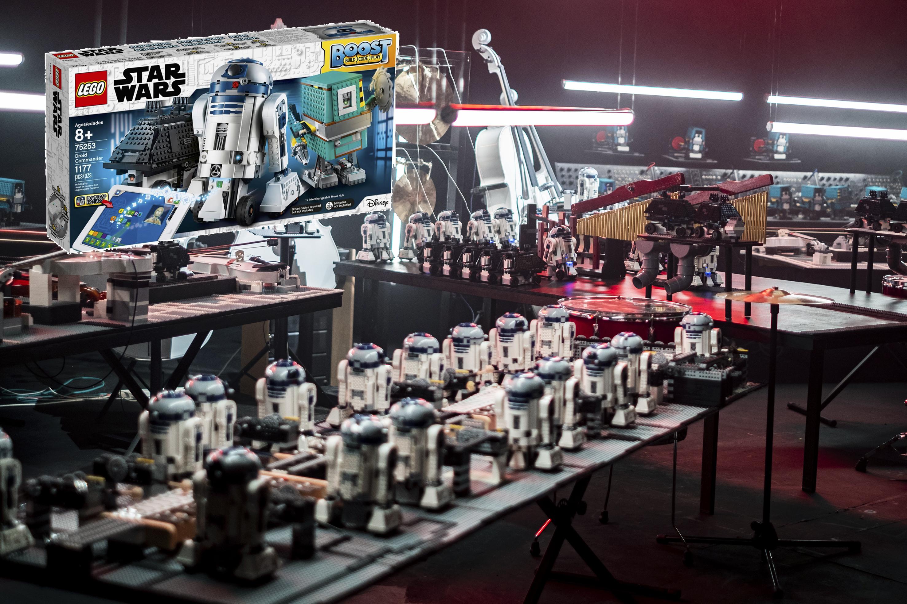 NEW LEGO Star Wars 75253 Boost Droid Commander 1177pcs