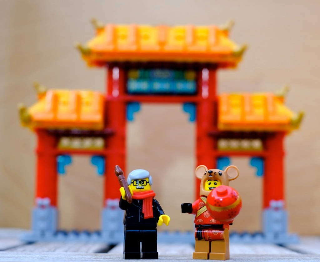NEW LEGO Chinese Year of the Rat GENUINE Minifigure 80104 Mouse Mini Figure