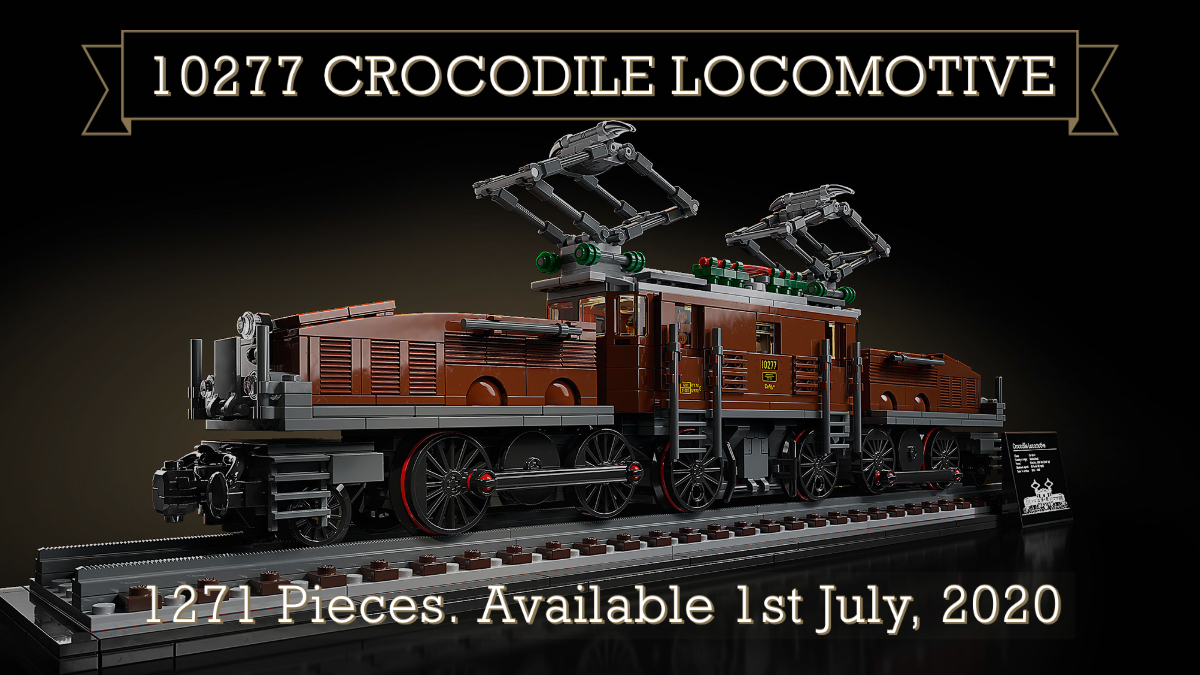 LEGO 10277 Creator Expert Crocodile Locomotive train New IN HAND Ships Fast