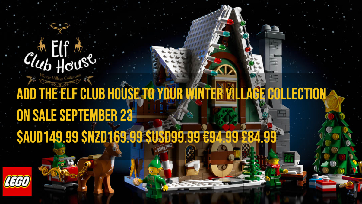 Add The 10275 Elf Club House To Your Winter Village Collection The Rambling Brick