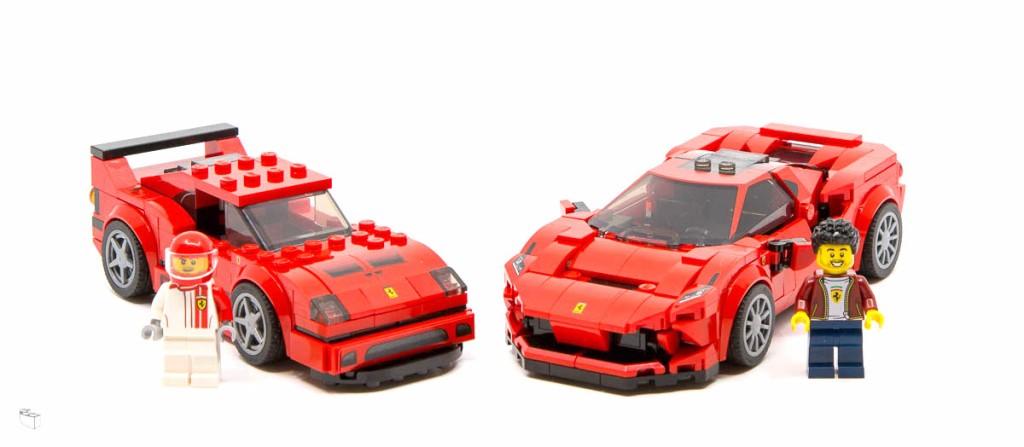 Lego® Speed Champions Sticker//Aufkleber für Ferrari aus Set 75890 Neu