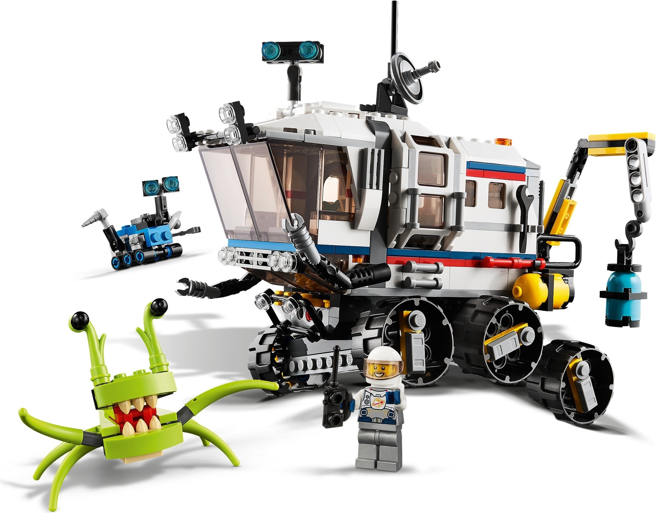 It S Out Of This World Creator 3 In 1 31115 Space Mining Mech Review The Rambling Brick